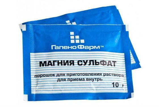 Magnio sulfato hipertenzija